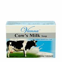 [ SABUN BATANG ] vienna COW'S milk SOAP WHITENING PEMUTIH