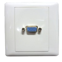 FacePlate VGA 1 Hole (Solder)