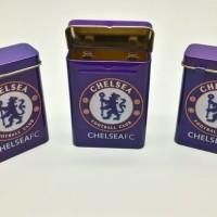 (Sale) kotak / tempat rokok club Chelsea import