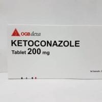 Ketoconazole tablet 200 mg isi 50