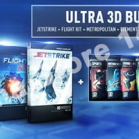 Video Copilot Element 3D 1.6.2 Ultra 3D Bundle + Content Pack