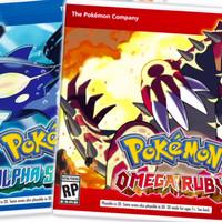 Game Kaset Cartridge Pokemon alpha sapphire / omega ruby Original 3ds