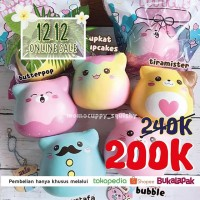 PROMO 12 12 ONLINE SALE punimaru marsmellow kittens squishy licensed