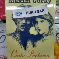 BUKU NOVEL CINTA PERTAMA MAXIM GORKY ORIGINAL