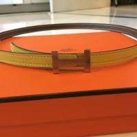 HERMES Focus belt buckle & Reversible leather strap 13 mm