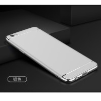 Casing HP 3 in 1 Protection Case Silver Oppo F3 / A77