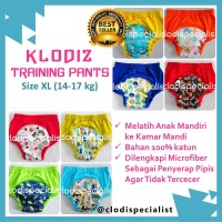 Jual [Isi 2] Klodiz XL Training Pants/ Celana Dalam Latihan Pipis Anak Murah