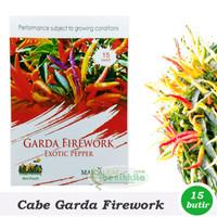 Benih Bibit Cabe Hias Garda Firework  Maica Leaf  T1910
