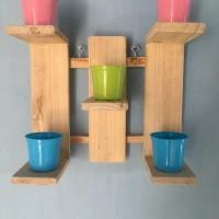 jual rack rak pot vas bunga pajangan dekorasi rumah bahan