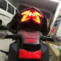 Stoplamp 3in1 Smoke Kawasaki Ninja Z800 ZX6R Z125 Smoke / Clear Ready