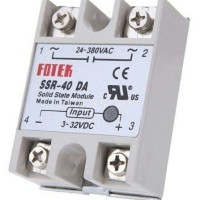 Solid State Relay Fotek SSR-40 DA 40 Ampere (DC Controlling AC)