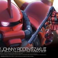 RG Johnny Jhony Ridden Zaku Bandai