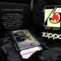 ZIPPO ORIGINAL USA 75TH ANNIVERSARY COMMEMORATIVE