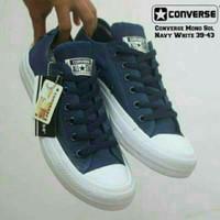 sepatu converse all star navy mono Grade Original/ sepatu murah/