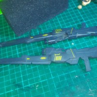 tween buster rifle PG WING ZERO CUSTOM WZC HONGLI 1/60 PERFECT GRADE