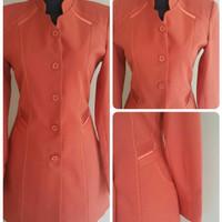 Setelan baju blazer/Exclusive blazer wanita warna orange kode 181
