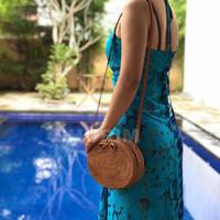 Jual Bohemian Bag Oval/Tas rotan/rattan Bali/selempang/best seller/sling Murah