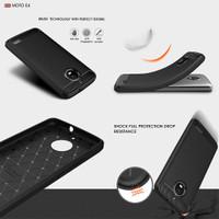 Armor Carbon TPU Case Motorola Moto E4
