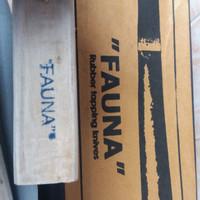 pisau sadap karet gagang kayu / pisau fauna murah