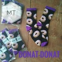 Kaoskaki donat / odd future socks / kaos kaki donut / pattern oldskul