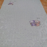 wallpaper dinding sticker motif panda 45 cm x 10 m