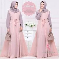 Gamis ALICIA - Fashion Wanita Muslim Hijab