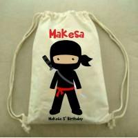 Desain Custom tas blacu   souvenir ulang tahun   goodie bag ultah