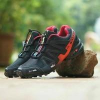 Sepatu Adidas Salomon Speedcross 3 Black Red Vietnam