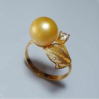 cincin emas kendari mutiara laut gold original lombok