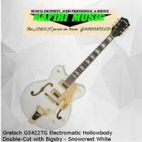 Gretsch G5422TG Electromatic Hollowbody Double-Cut Snowcrest White