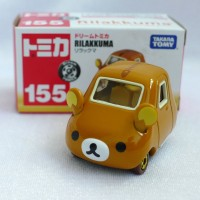 Tomica Dream 155 Rilakkuma Takara Tomy Japan Made in Vietnam