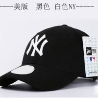 harga Topi Baseball Mlb Ny New York Yankees Hitam Putih New Era Import Tokopedia.com