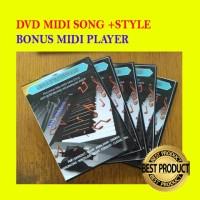 Paket Full Karaoke Midi Song + Style + Bonus Midi Player Update New