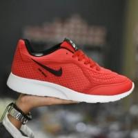 Sepatu Sport Nike Airmax Running - Merah Hitam
