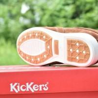 Sepatu Casual Pria Kickers Sidney Brown / Coklat / kerja santai formal