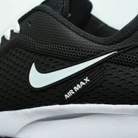 Sepatu Sport Nike Airmax Running Men / Hitam Putih