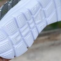 Sepatu Sport Nike Airmax Flyknit 3D Skin Abu Hijau Stabilo Running