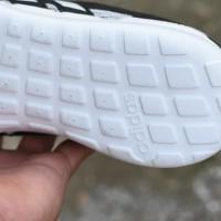 Sepatu Sport Adidas Duramo Lite Running Pria Putih Hitam - DR 02