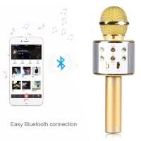 New Versi Microphone Wireless Bluetooth WS-858