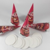 kemasan mini cone murah/ Kemasan Cone cornetto / paper cone