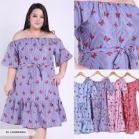 Big size Laudria Butterfly Sabrina Big Mini Dress XXXL, XXL