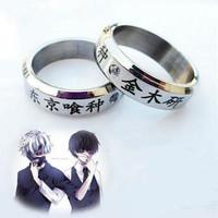 cincin anime tokyo ghoul ken aksesoris pria dan wanita cosplay