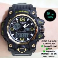 Jam tangan casio wanita pria digital rubber anti air digitec qnq murah