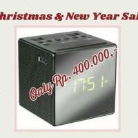 Sony ICF - C1T Alarm Clock AM/FM Radio - Hitaml