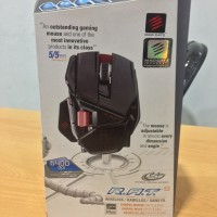 Madcatz RAT 9 Wireless gloss black gaming mouse
