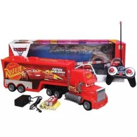 RC TRUCK CONTAINER MACK THE LIGHTNING CARS MCQUEEN KADO HADIAH