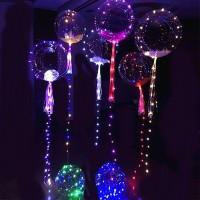 Balon LED Kekinian, Balon PVC LED, Balon hiasan dekorasi wedding