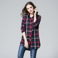 Terbaru KEMEJA KOREA BAJU FASHION WANITA COAT JAKET IMPORT KOREA DRESS