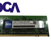 SODIMM 2GB PC2-6400 DDR2 800 OCA MEMORY LAPTOP