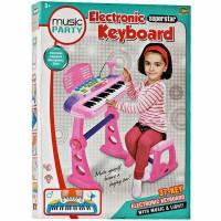 Best seller mainan keren ELECTRONIC KEYBOARD PINK BO 27A MAINAN MUSIC